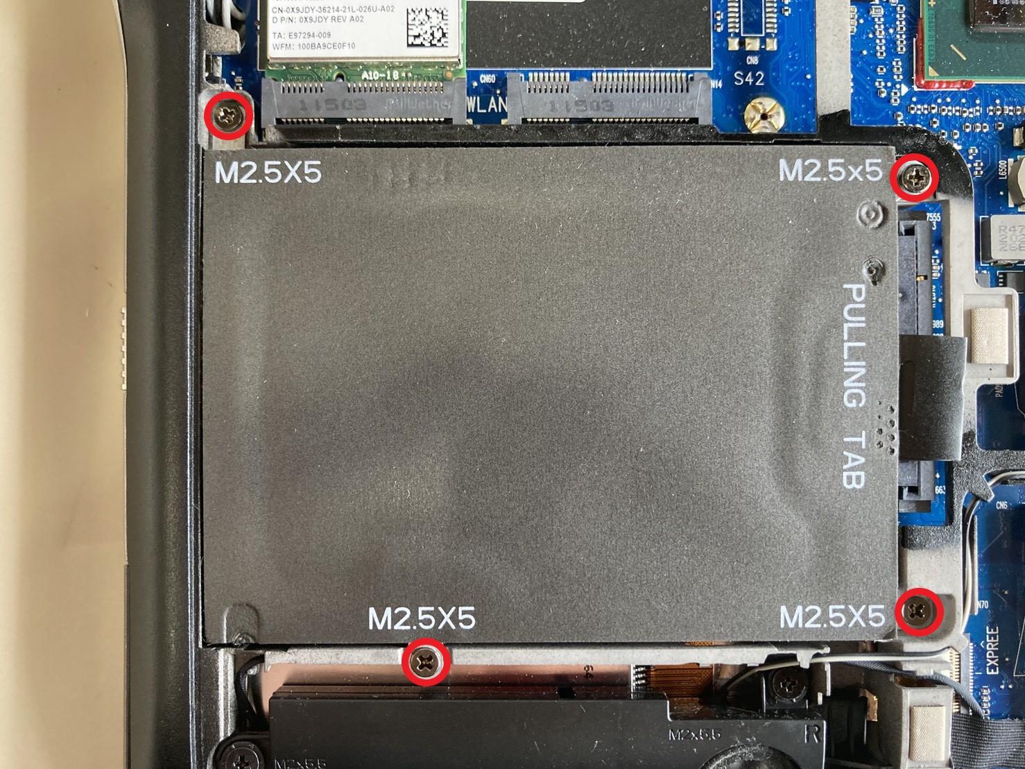 Dell Latitude E6220をSSD換装する手順を徹底解説【分解方法】