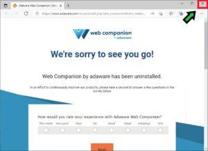 【不要ソフト】Adware Web Companionを削除する方法を解説