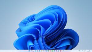 Windows11のパソコンでタスクバーのアイコンを左寄せに変更する方法