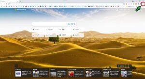 Google ChromeのトップページをBingから元に戻す方法